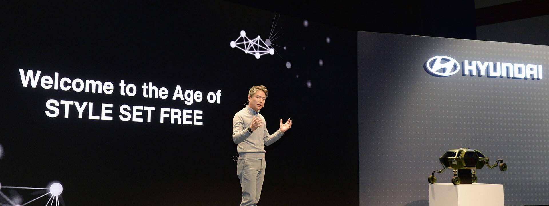 Hyundai Set Style Free на выставке CES 2019