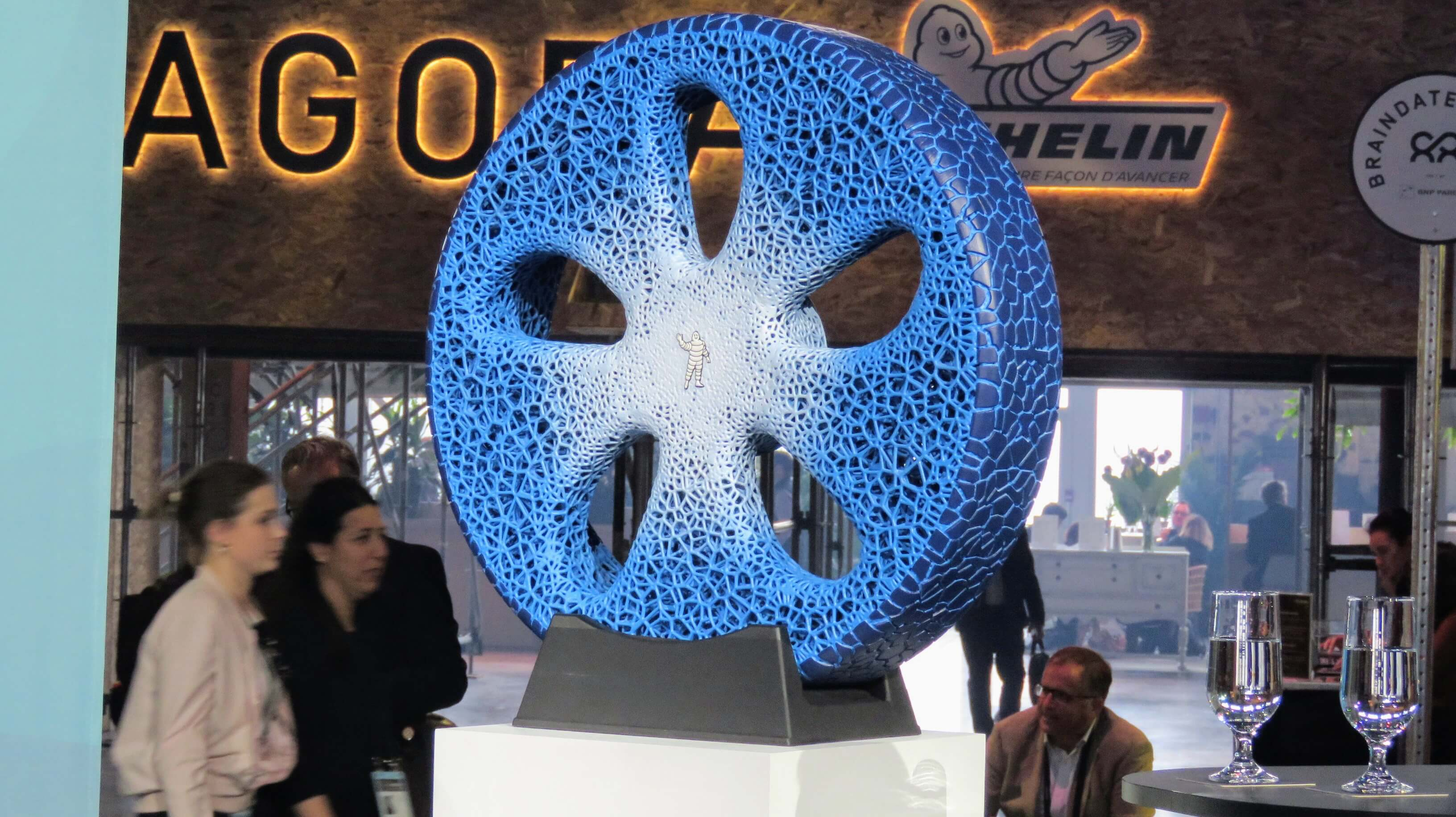 Michelin Vision 2017 Concept - представлен на выставке Movin