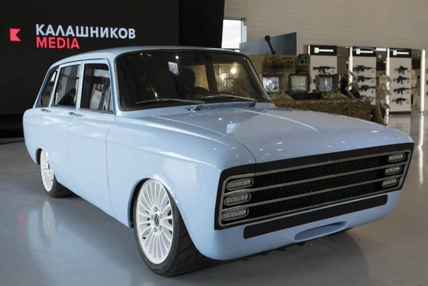 российский электрокар